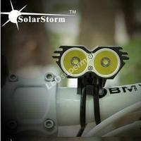 SolarStorm X2 Bike Light 2 CREE U2 5200LM LED Bicycle Light head-Black(Head Lamp Only)
