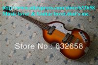 2013 Best Quality Hofner Bass Guitar Hofner Icon Series Vintage Sunburst Violin Bass Electric Guitar in Stock