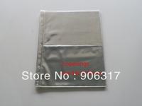 2 openings per page  18cm*12cm , 20pcs/lot Vinyl  Banknotes  Plastic Page