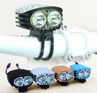 MTY EX-999 2*Cree XM-L U2 2000-Lumen 4-mode LED Mountain bike light +Battery & Charger