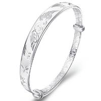 s999 thousands of fine silver bracelet, sterling silver braceletSSB0044