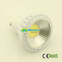 4X  NEW 500LM LED light Dimmable 5W COB gu10 E27 MR16 GU5.3 COB LED SpotLight