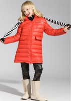 Barabara balabala Girls big boy on long down jacket winter new children's down jacket girls