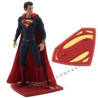 wholesale New DC UNIVERSE Super Man of Steel 4 1/2 inches action Figure xmas gifts FK288X10