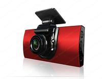 "Car DVR Camcorder dk870 Dual lens Video black box 2.5"" TFT Full HD 1280*720P 160 degree HD ultra wide angle lens G-sensor"