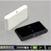 Hot 12000mah 2 Dual USB Power Bank Portable External Battery Charger for ipad iphone Free Shipping