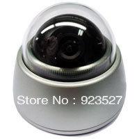 1/3 COLOR CCD 600TVL  Pan/ Tilt/ Zoom Metal mini dome Vehicle Camera