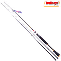 Trulinoya Qianlong 2.1m Casting Fishing Rods with M/MH Double Tips