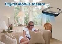 Mobile phones, pad dedicated video player digital glasses free shipping