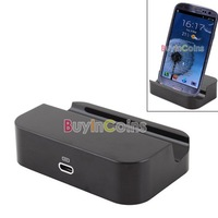 Dock Cradle Charger Adapter Base Holder for Samsung for Galaxy S3 S2 SII i9300 i9100  #22490