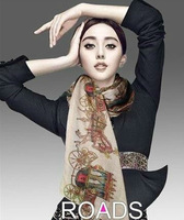 1 PC 70*175cm New Arrival Korean Style Music Note Printed Lady Chiffon Silk Scarf