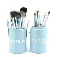 Wholesale Professional 1Set/lot New 100% new 12 pcs/Set Pro Cosmetic Makeup Brushes Set Make up Tool Dres,3colors  600215