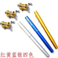 Portable fishing rod fountain pen type rod pocket-size rod set fishing tackle 1 meters 1.4 meters mini pole