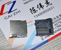 Free Shipping Trans Flash  TF Micro SD Card Socket Adapter pop-up micro TF memory card socket /slot / seats/ holder