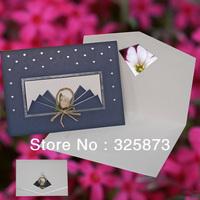 10PCS/LOT Fashion Korea Flower Design Unique Wedding Invitation Card For Sale T148
