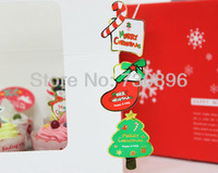 Free Shipping! High Quality ChristmasTree, Stocking & Crutches Glossy Seals Stickers, Gift Seals Label, Gift stickers 720pcs/lot