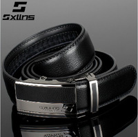 Sxllns belt men genuine leather belt men cowhide automatic buckle pure commercial sb's belt