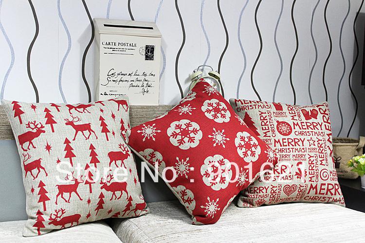 Gratis verzending kerst cadeau dier rendieren, sneeuwvlokken, vrolijk ...
