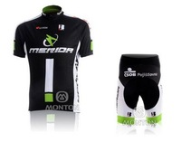 2010  NEW   black Team Cycling Jersey + Shorts outdoor clothes