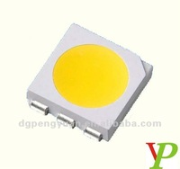 Low price ! wholesale 5050 White led 3-PIN chipset 10-12LM cool white led(CE&Rosh)