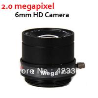 F1.1, 2.0Megapixel Manual 6mm lens CS Mount Fixed CCTV HD Camera Lens
