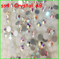 2880Pcs/Lot SS4 Non Hotfix Flat Back Rhinestones Crystal AB Color 1.5mm Nail Art Flatback Rhinestones