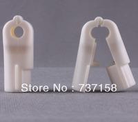 6mm ABS Supermarket Red Security Hook Stop Lock
