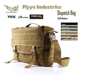 "(14"" Laptop)Genuine FLYYE 1000D Cordura Waterproof Nylon Tactical Messenger Bag Notebook Laoptop Computer Shoulder Dispatch Bag"