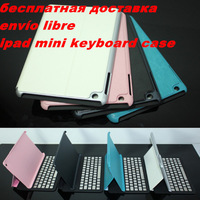 Aluminum Bluetooth 3.0 Wireless Keyboard Holder Case Cover For Apple iPad Mini