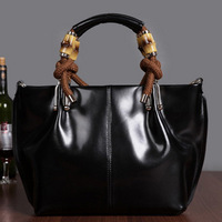 Women 2013 all-match fashion genuine leather cowhide women's handbag quality one shoulder cross-body handbag