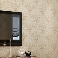 Fashion non-woven wallpaper tv background wall wallpaper papel de parede
