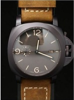 Big dial watches belt male table independent second hand automatic mechanical watches men's watches