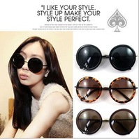 Round frame vintage sunglasses 2013 fashion designed women brand sunglasses hot sale oculos de sol women free shipping DD-001