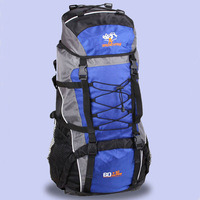 60+10l Fashion waterproof & abrasion resistant nylon Hiking backpack  Hot sales and free shipping travel bag