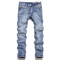 2013 disel male light blue nostalgic stonewashed water wash denim trousers 6805 men jeans