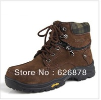 Free shipping oversized leather casual shoes men boots boots outdoor boots 45464748