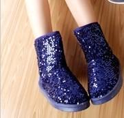 2013 boots fashion female snow boots knee-high platform single boots paillette women's shoes boots