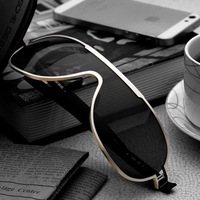 Classic male sunglasses polarized sun glasses large frame sunglasses aluminum magnesium polarized mirror driver driving mirror