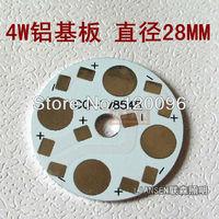 Wholesale 200 pcs/lot 4W LED Aluminum substrate / LED Aluminum Base Plate