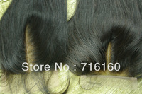 Lace Top Closure 3.5x4 Brazilian Straight Hair Closures Virgin Brazilian Lace Part Closure Bleached knots Middle Part closure