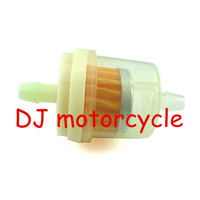 5 pcs Universal fuel filter for yamaha honda motorcycle  Wholesale ATV fuel filter cheap   Hot scooter gas filter free shipping