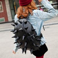 Bag women's handbag hedgehogs3 lovers casual backpack leather