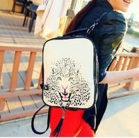 Duomaomao backpack bag women's handbag bag casual vintage handbag