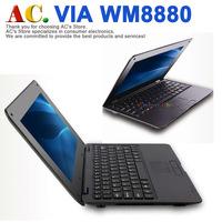 10 inch VIA WM8880 Netbook Computer UMPC laptops 1GB RAM 4GB ROM HDMI WIFI