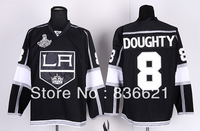Free Shipping Cheap Wholesale Los Angeles Kings American Hockey Jerseys #8 Drew Doughty Jersey Embroidery Logos Mix Order