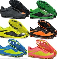 cheap retail men HyperVenom Phantom Neymar Rooney leather soccer cleats football shoes boots AG outdoor footwear