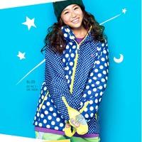 Lotte monoboard plus cotton ski suit female set outdoor jacket g