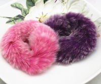 Wholesale Real rabbit fur cute warm nice fine sweet cute korean fashion style hairband for woman hair accessories