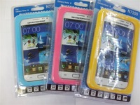 New Arrival Waterproof Case For Samsung Galaxy Note II 7100,For Galaxy Note II N7100 WATERPROOF CASE FREE SHIPPING