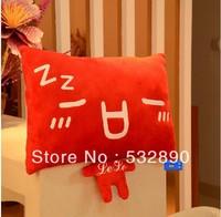 Free shipping 45cm*40cm colorful sofa pillow car Pillows Design Plush Plush Toys Cotton stuffed toys Plush and Stuffed Toy